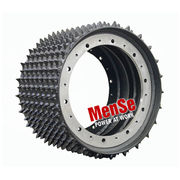 Aggressive steel feed wheel 20x24 for Tigercat TH 575 harvester heads