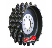 Aggressive steel feed wheel 25x30 for AFM 60 (MS05) harvester heads