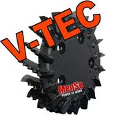 V-TEC feed roller for John Deere H415 (Black Bruin Multispeed) harvester heads