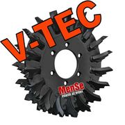 V-TEC feed roller for John Deere H480 (Danfoss) harvester heads