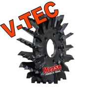 V-TEC feed roller for Kesla 18-22 harvester heads
