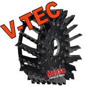 V-TEC feed roller for Kesla 25RH harvester heads