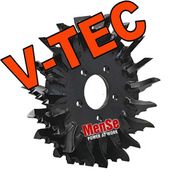 V-TEC feed roller for Komatsu C93 harvester heads