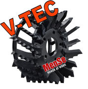 V-TEC feed roller for Logmax 4000 harvester heads