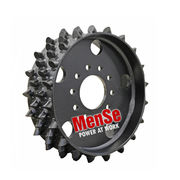 Aggressive steel feed wheel 22x30 for Ponsse H7 harvester heads