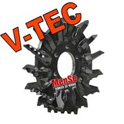 V-TEC feed roller for Ponsse H53 harvester heads