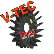 V-TEC multi tree feed roller for Ponsse H6/H7/H8 harvester heads