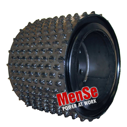 Flexible feed roller 22x13 for John Deere H270 and H762 harvester heads