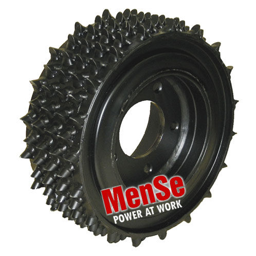 Flexible feed roller 16x14 for Kesla Foresteri 20 & 22 harvester heads