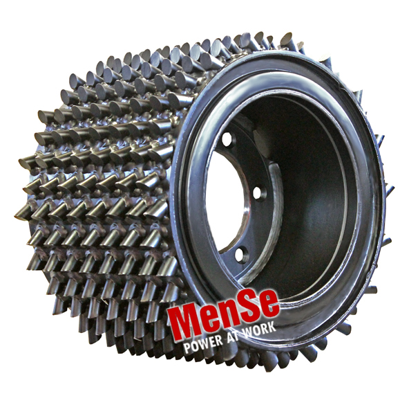 Flexible aggressive feed roller 22x30 for John Deere H270, H762 and Waratah HTH260 harvester heads