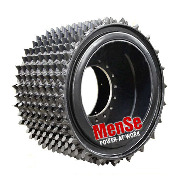 Flexible aggressive feed roller 22x30 for LogMax 7000 harvester heads