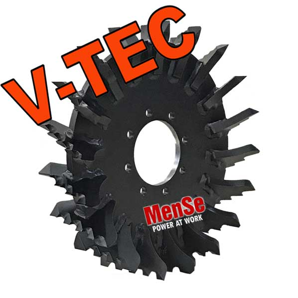 V-TEC feed wheel John Deere 758 Danfoss