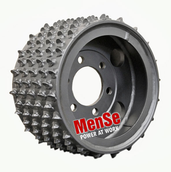 Steel feed wheel 22x13 for LogMax 828 & 928 harvester heads