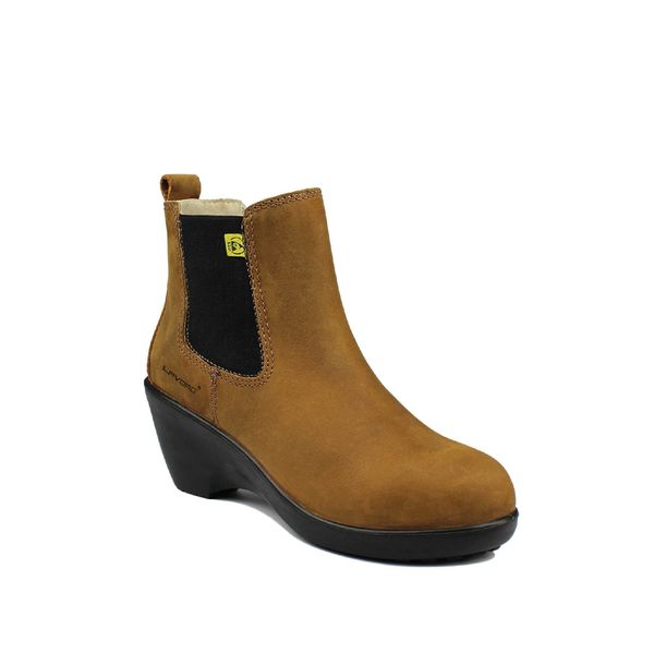 Women's Safety Shoes Lavoro Gwen S2 Brown/Black