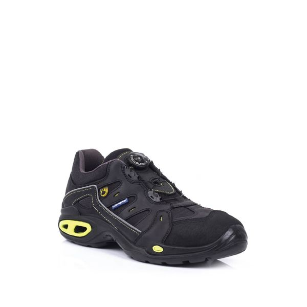 Safety Shoes Lavoro Green Light S3 Black-Yellow